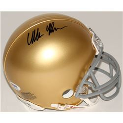 C.J. Prosise Signed Notre Dame Fighting Irish Mini Helmet (PSA COA)