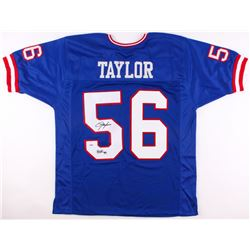 "Lawrence Taylor Signed Giants Jersey Inscribed ""HOF 99"" (PSA COA)"