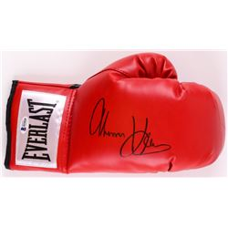 Tommy Hearns Signed Everlast Boxing Glove (Beckett COA)