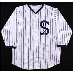 "John Cusack Signed ""Eight Men Out"" White Sox Throwback Jersey (Beckett COA)"