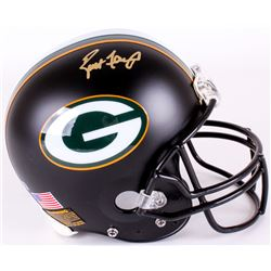 Brett Favre Signed Packers Full-Size Authentic On-Field Matte Black Helmet (Radtke COA)