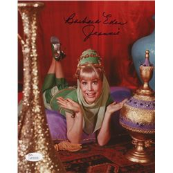"Barbara Eden Signed ""I Dream of Jeannie"" 8x10 Photo Inscribed ""Jeannie"" (JSA COA)"