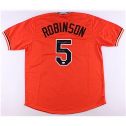 "Brooks Robinson Signed Orioles Jersey Inscribed ""HOF 83"" (JSA COA)"