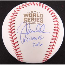 "Joe Maddon Signed 2016 World Series Baseball Inscribed ""WS CHAMPS 2016"" (JSA COA)"