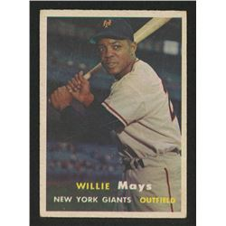 1957 Topps #10 Willie Mays