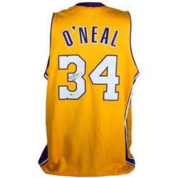 Shaquille O'Neal Signed Lakers Jersey (Beckett COA)
