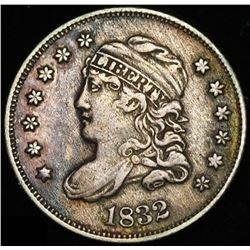 1832 5¢ Capped Bust Silver Half Dime