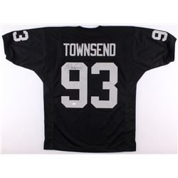 Greg Townsend Signed Raiders Jersey (JSA COA)