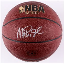 Magic Johnson Signed Spalding NBA Basketball (Radke COA)