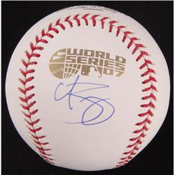 Curt Schilling Signed Official 2007 World Series Baseball (Steiner COA)