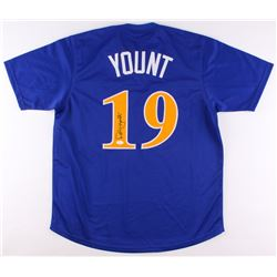 Robin Yount Signed Brewers Jersey (JSA COA)