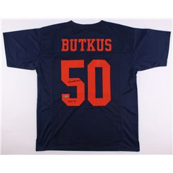 "Dick Butkus Signed Bears Jersey Inscribed ""CHOF 83"" (Radtke COA)"