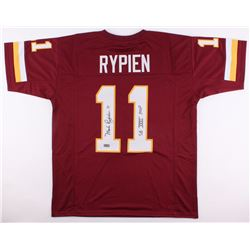 "Mark Rypien Signed Redskins Jersey Inscribed ""SB XXVI MVP"" (Radtke COA)"