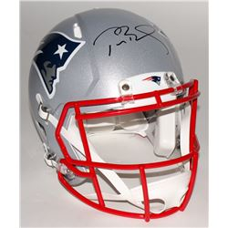 Tom Brady Signed Patriots Full-Size Authentic On-Field Speed Helmet (Steiner COA  TriStar)