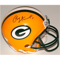 Paul Hornung Signed Packers Mini-Helmet (JSA COA)