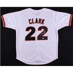 Will Clark Signed Giants Jersey (PSA COA)