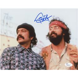 "Tommy Chong Signed ""Up in Smoke"" 8x10 Photo (JSA COA)"