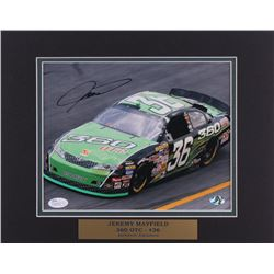 Jeremy Mayfield Signed 11x14 Custom Matted Photo Display (JSA COA  Stacks of Plaques COA)