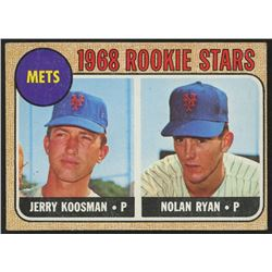 1968 Topps #177 Rookie Stars/Jerry Koosman RC/Nolan Ryan RC
