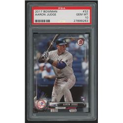 2017 Bowman #32 Aaron Judge RC (PSA 10)