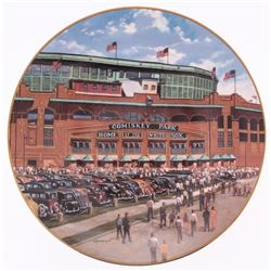 "White Sox ""Comisky Park"" Limited Edition Porcelain Plate"