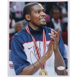 Kevin Durant Signed Team USA 8x10 Photo (JSA COA)