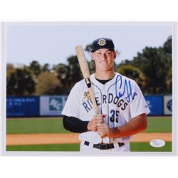 Aaron Judge Signed Riverdogs 8x10 Photo (JSA COA)