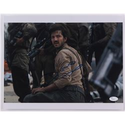 "Diego Luna Signed ""Rogue One: A Star Wars Story"" 11x14 Photo (JSA COA)"