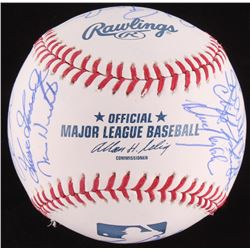 1978 World Series Yankees Baseball Signed by (20) Yankees Players with Ed Figueroa, Ken Clay, Larry