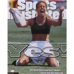 "Brandi Chastain Signed Sports Illustrated ""Team USA"" 16x20 Photo Inscribed ""USA"" (JSA COA)"