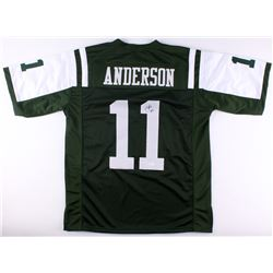 Robby Anderson Signed Jets Jersey (JSA COA)