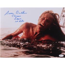 "Susan Backlinie Signed ""Jaws"" 11x14 Photo Inscribed ""Chrissie"", ""Jaws""  ""1st Blood"" (JSA COA)"