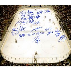 1994 New York Rangers 20x24 Photo Team-Signed by (26) with Mark Messier, Brian Leetch, Mike Richter