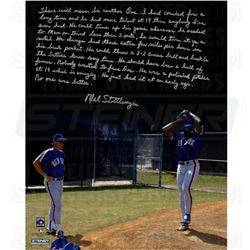 Mel Stottlemyre Signed Mets 16x20 Photo with Story Inscription (Steiner COA)