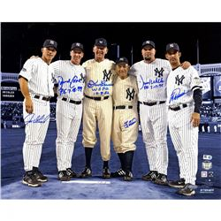 "New York Yankees ""Final Game at Yankee Stadium"" 16x20 Photo Team-Signed by (6) Perfect Game Battery"