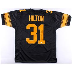 Mike Hilton Signed Steelers Color Rush Jersey (TSE Hologram)