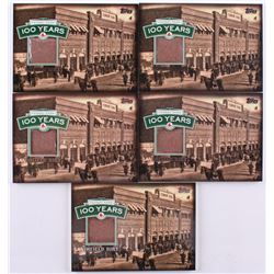 Lot of (5) 2012 Topps #NNO Fenway Park Dirt