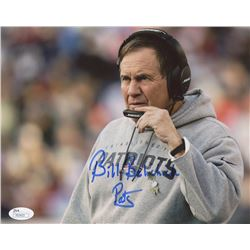 "Bill Belichick Signed Patriots 8x10 Photo Inscribed ""Pats"" (JSA COA)"