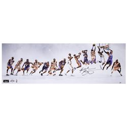 "Kobe Bryant Signed Lakers ""Through the Years"" 12x36 Limited Edition Photo (Panini COA)"