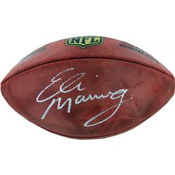 "Eli Manning Signed NFL ""The Duke"" Football (Steiner COA)"