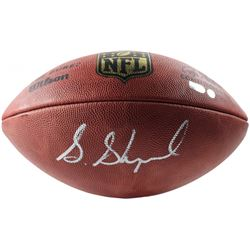 Sterling Shepard Signed Official NFL Football (Steiner COA  Fanatics Hologram )