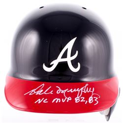 Dale Murphy Signed Braves LE Full-Size Rawlings Authentic Batting Helmet With (5) Inscriptions (Radt