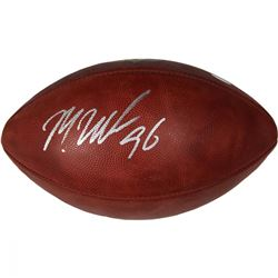 Muhammad Wilkerson Signed NFL Football (Steiner COA)