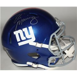 Eli Manning Signed Giants Full-Size On-Field Helmet (Steiner COA)