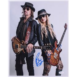 Richie Sambora  Orianthi Signed 11x14 Photo (JSA COA)