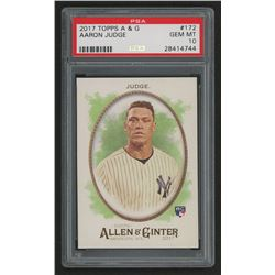 2017 Topps Allen and Ginter #172 Aaron Judge RC (PSA 10)