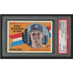 2017 Topps Archives '60 Rookie Stars #RS9 Aaron Judge (PSA 10)