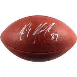 "Rob Gronkowski Signed NFL ""The Duke"" Football (Steiner COA)"