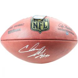 "Chris Ivory Signed Official NFL ""The Duke"" Football (Steiner COA)"