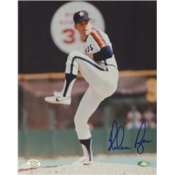 Nolan Ryan Signed Astros 8x10 Photo (Ryan Hologram)